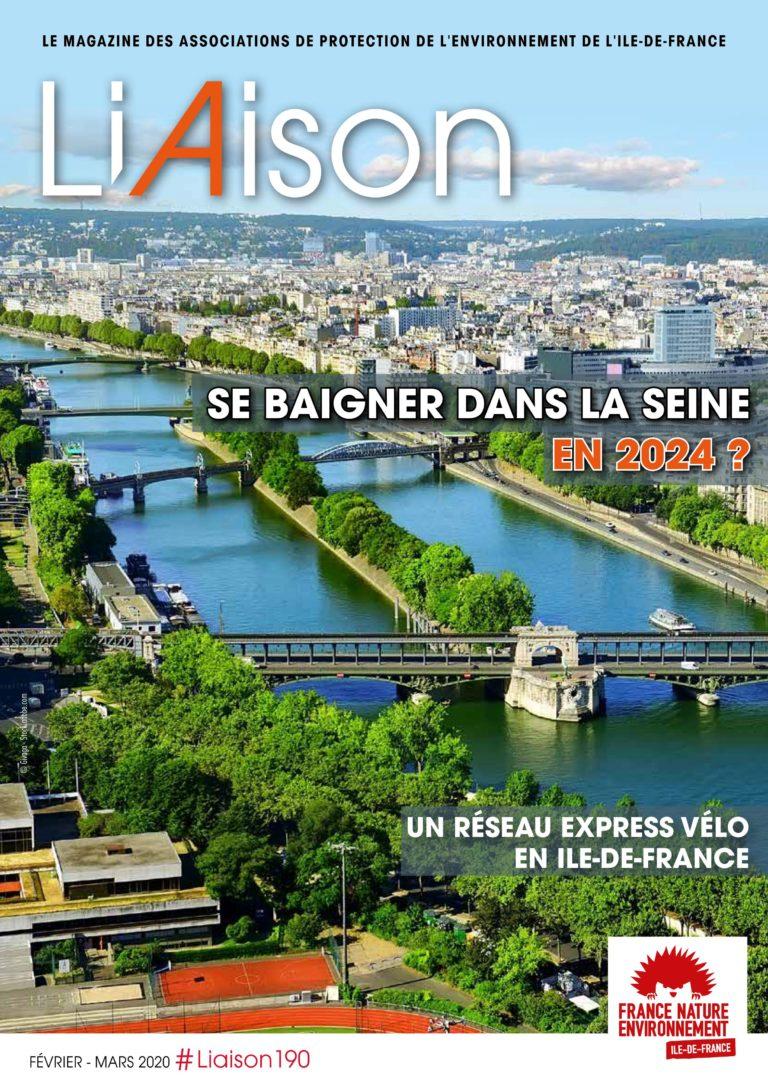 Parution d'un nouveau numéro de Liaison, le magazine des associations de protection de l'environnement de l'Ile de France