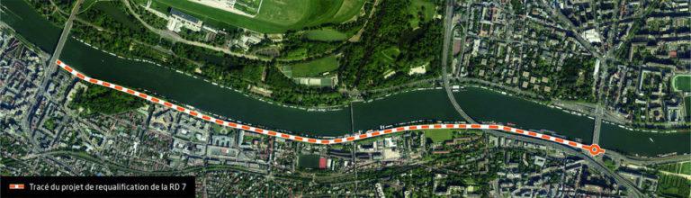 Avis sur l'enquête publique relative à la requalification de la RD7 entre Suresnes et Saint Cloud