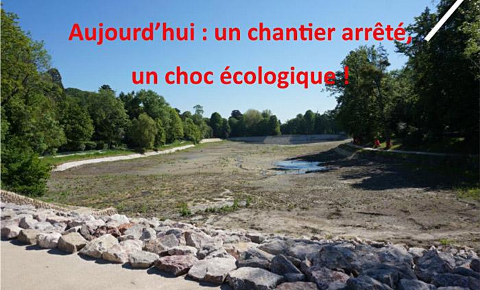 Les étangs de Corot : un chantier arrêté, un choc écologique !