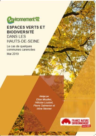 Espaces verts et biodiversité