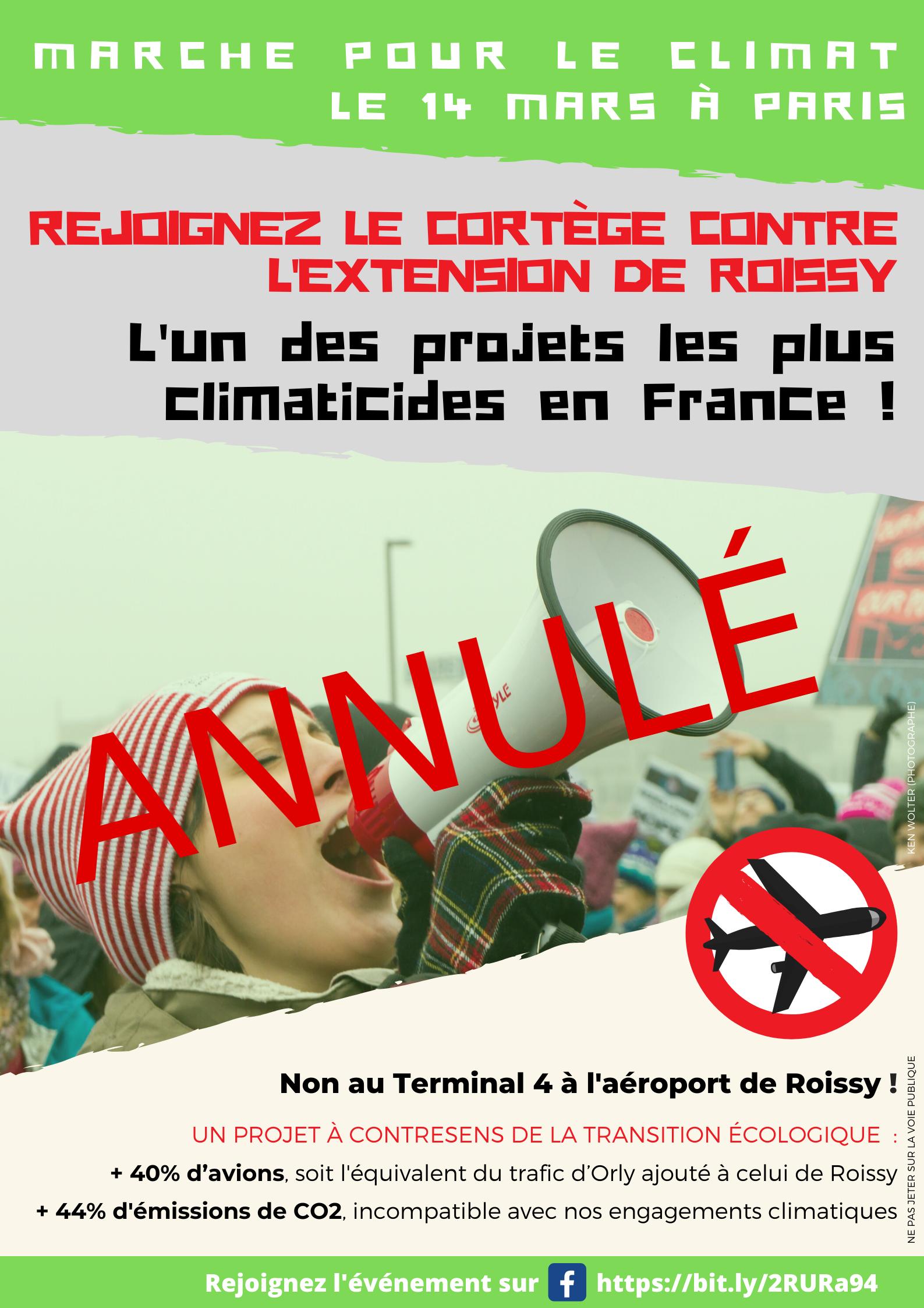Marche pour le climat 14 mars à Paris