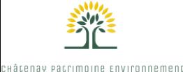 Logo association Châtenay Patrimoine Environnement