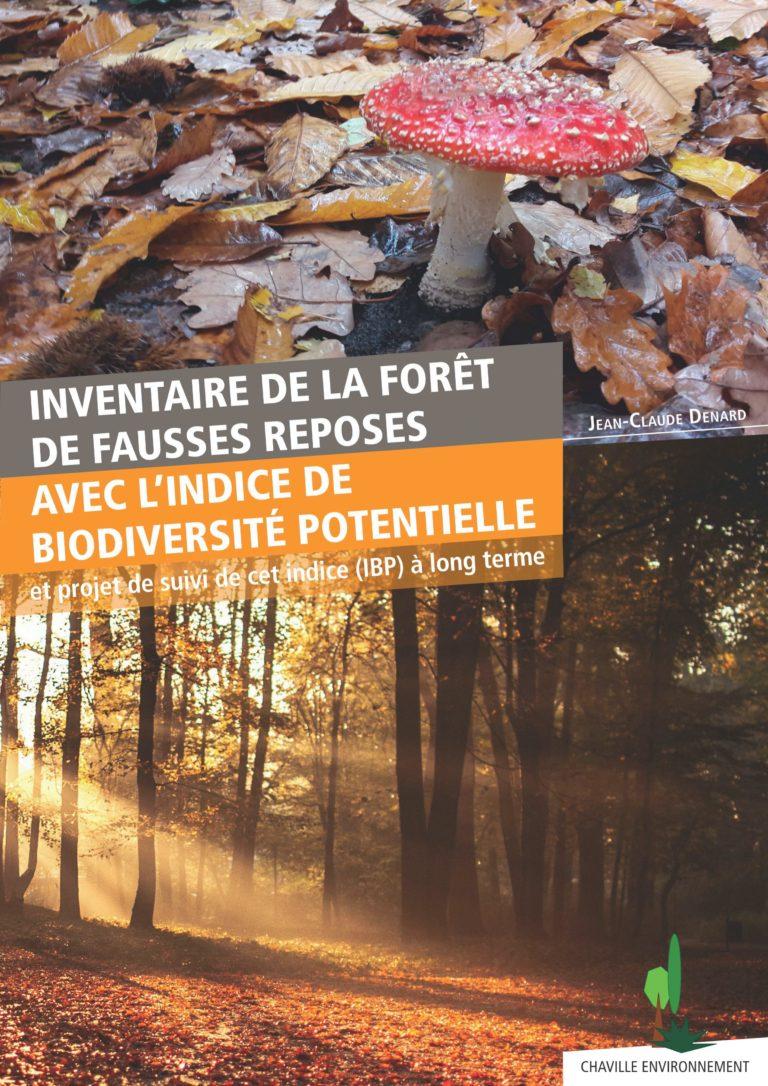 Inventaire de la forêt de Fausses Reposes par l'indice de biodiversité potentielle
