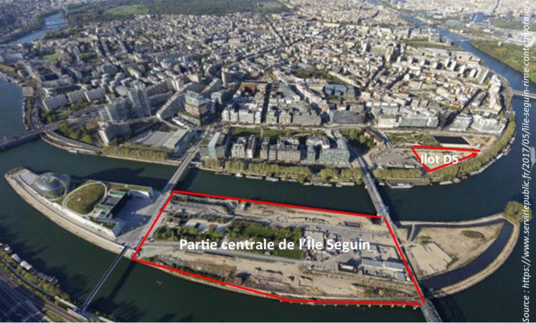 Avis d'Environnement 92 sur le projet de construction d'un ensemble immobilier sur la partie centrale de l'île Seguin situé à Boulogne-Billancourt (Hauts-de-Seine)