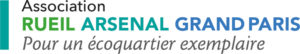 Logo de l'association Rueil Arsenal Grand paris, pour un éco quartier exemplaire