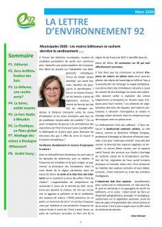 Environnement 92 03/2020